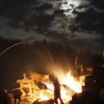 Kokopelli in the Fire