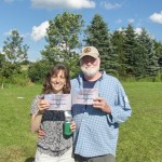 Three-Legged Race winners!